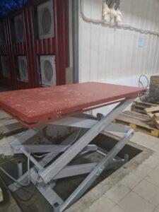 Гидравлический подъемный стол – проекты от Новые Инженерные Конструкции Тула