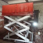 Ножничный подъёмник нашего производства - новости подъемники Тула