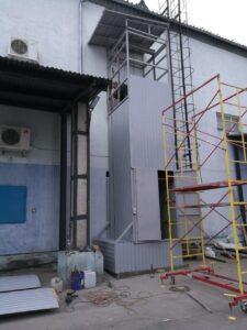 Монтаж подъёмников от Новые инженерные конструкции