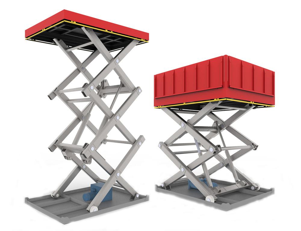 Гидравлический подъемный стол - Новые Инженерные Конструкции Тула